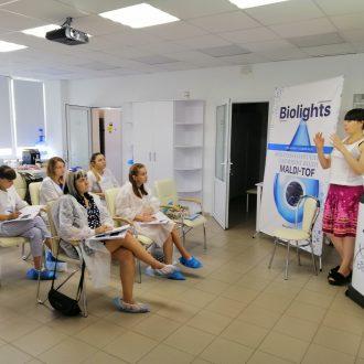 Лабораторне заняття з ВЕРХ на базі лабораторії «Біолайтс»